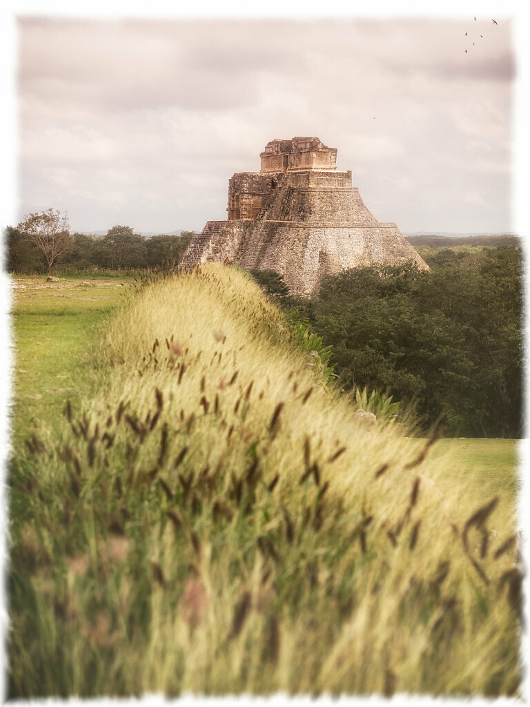 Magician's Pyramid in Uxmal