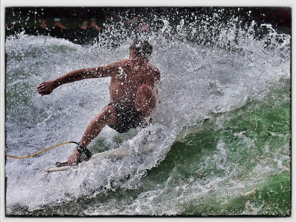 Unknown River Surfer