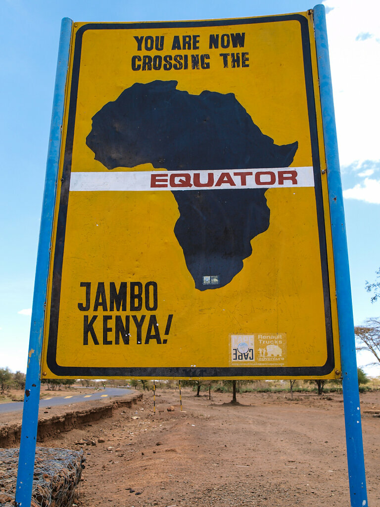 According to our GPS the Equator is 300m further to the North ;-)