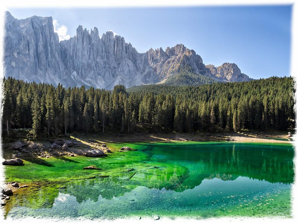 Lago di Careza and Latemar