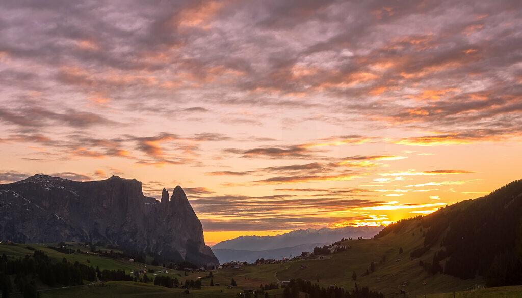 Alpe di Siusi Sunset