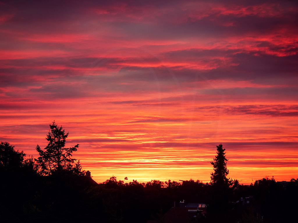Autumn Sunset III