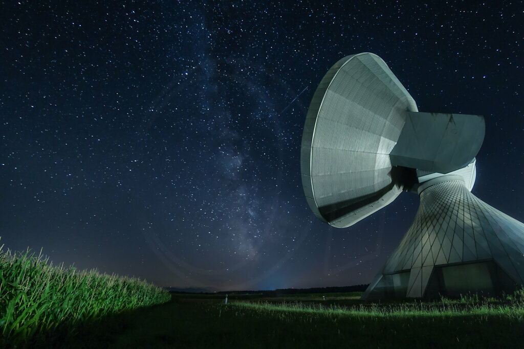 Milky Way and Antenna