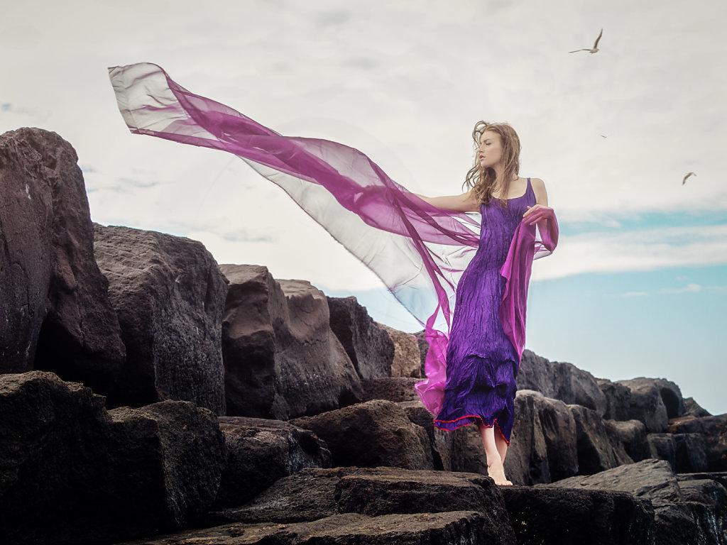 Windsbraut - Bride of the wind I