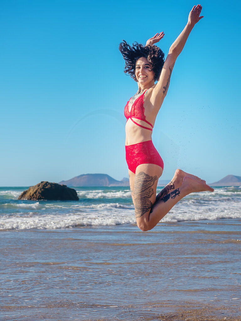 Jump and Smile