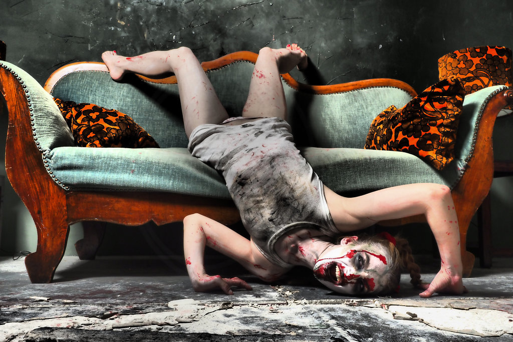 Zombie on my Couch