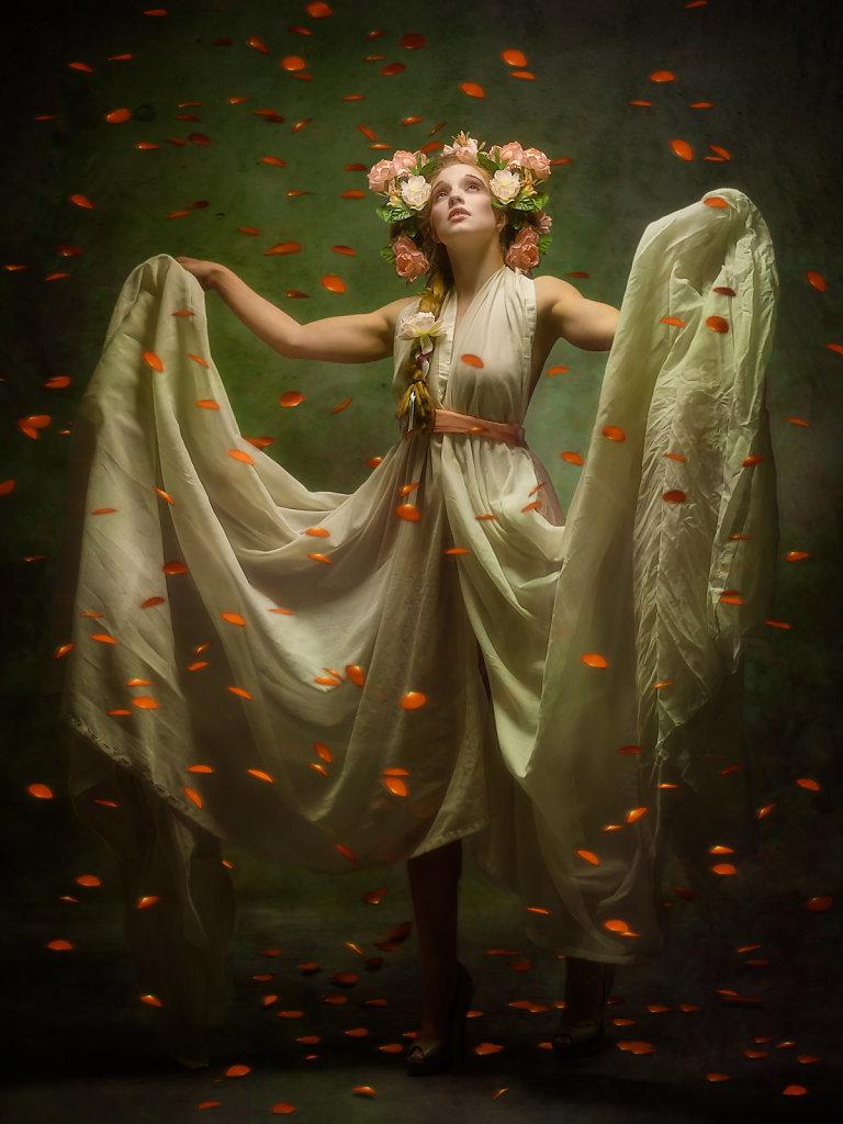 Persephone in Autumn